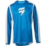 _Shift Whit3 Label Race Jersey Blau/Weiss | 24402-025 | Greenland MX_