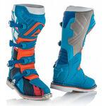 _Acerbis X-Pro V Stiefel Blau/Orange | 0021596.243.00P | Greenland MX_