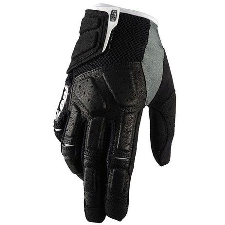 _100% Simi MTB Handschuhe Schwarz | 10003.001.00P | Greenland MX_