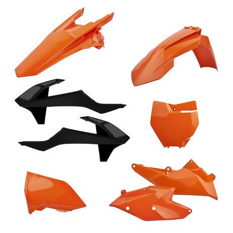 _Polisport Plastik Kit KTM EXC/EXC-F 17-18 Orange   90707   Greenland MX_
