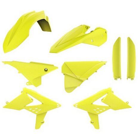 _Plastik Satz Komplett Kit Polisport Beta RR 2T/4T 13-17 Gelb Fluor   90739-P   Greenland MX_