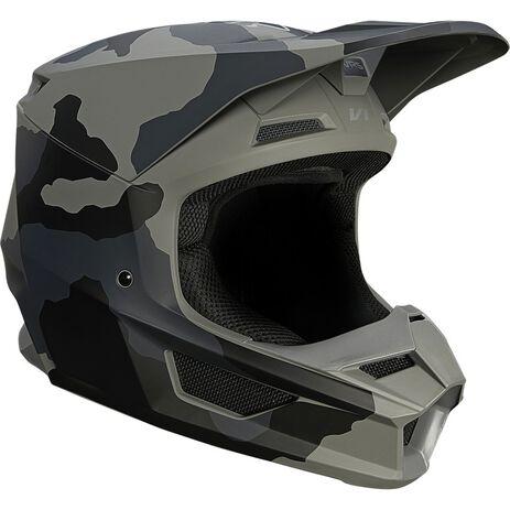 _Kinder Helm Fox V1 Trev Camo Schwarz | 27738-247 | Greenland MX_