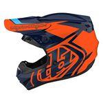 _Kinder Helm Troy Lee Designs GP Overload Navy Blau/Orange | 104252003-P | Greenland MX_