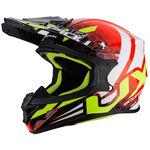 _Scorpion VX-21 Air Xagon Helm Rot/Gelb Fluo | 31-252-160-P | Greenland MX_