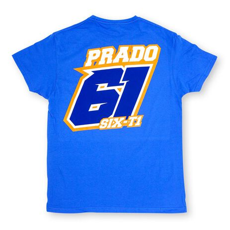 _Jorge Prado Champion T-Shirt Blau | JP61-300BL | Greenland MX_