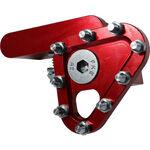 _Apico Gefertigte Klappraste für Fußbrems Rot | AP-BPFTIPR | Greenland MX_