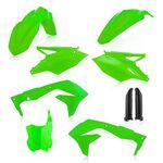 _Acerbis Plastik Kit Kawasaki KX 450 F 16-17 Fluo Grün   0021843.131-P   Greenland MX_