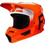 _Fox V1 Werd Helm Orange Fluo | 25473-824 | Greenland MX_