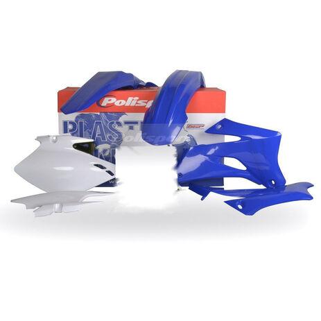 _Polisport Plastik Kit Yamaha WR 250 F 07-14 WR 450 F 07-11 Blau   90136   Greenland MX_