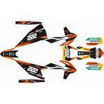 _Komplett Aufkleber Kit KTM EXC/EXC-F 20 Replica Cairoli   SK-KTEXC20RCA-P   Greenland MX_