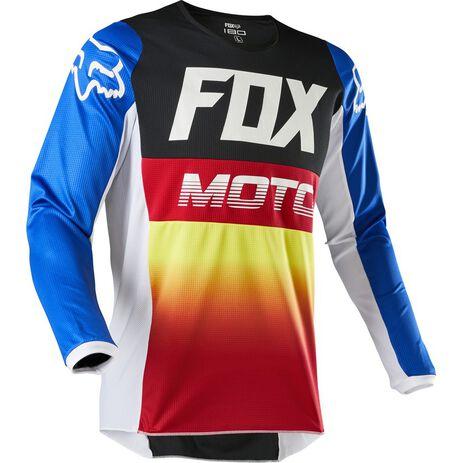 _Fox 180 Fyce Kinder Jersey Blau/Rot   24623-149   Greenland MX_