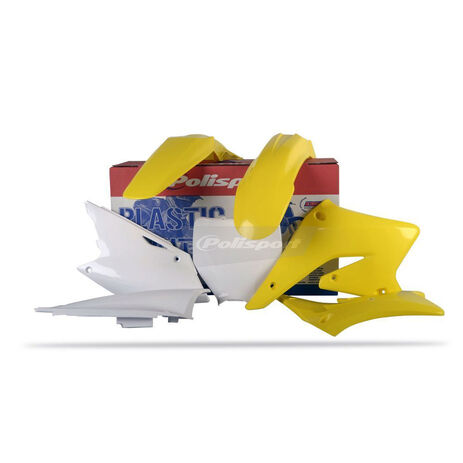 _Polisport Plastik Kit Suzuki RMZ 250 04-06 | 90096 | Greenland MX_