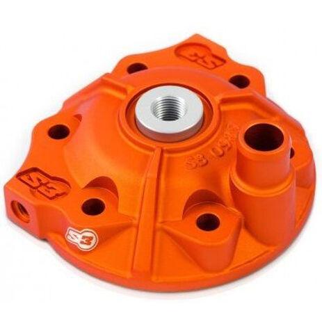 _S3 Stars Zylinderkopf Kit KTM EXC 300 17 Orange | STK-985-300-O | Greenland MX_