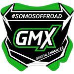 _GMX Mini-Tafel Aufkleber 5,5 x 5,5 cm   PU-MBFPES-P   Greenland MX_