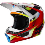 _Fox V1 Motif Helm | 21775-054-P | Greenland MX_