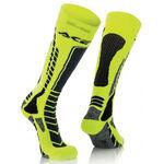 _Acerbis MX Pro Socken Schwarz/Gelb Fluo | 0022077.318 | Greenland MX_