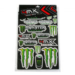 _4MX Aufkleber Monster Set | 01KITA606 | Greenland MX_