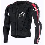 _Alpinestars Bionic Plus Body Protektoren-Jacke Schwarz/Rot | 6506716-132 | Greenland MX_