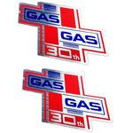 _Ein Paar Gas Gas 30th Anniversary Aufkleber | PU00642014 | Greenland MX_
