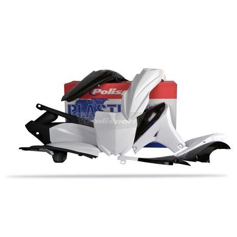 _Polisport Plastik Kit Yamaha YZ 450 F 10-13 Weiß | 90262 | Greenland MX_