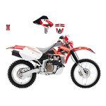 _Blackbird Aufkleber Kit Honda XR 650 00-09 | 2130E | Greenland MX_