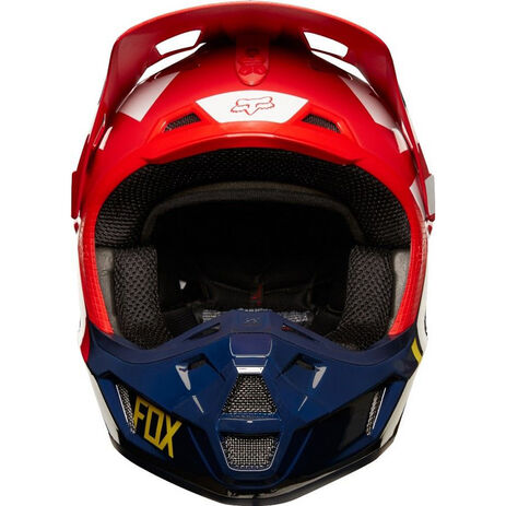 _Fox V2 Preme Helm Navy/Rot | 19528-248-P | Greenland MX_