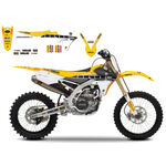 _Sitzbezug + Aufkleber Kit Blackbird Replica Team Factory Racing Yamaha YZ 250/450 F 14-16 WR 250 F 15-16 | 8243R5SE | Greenland MX_