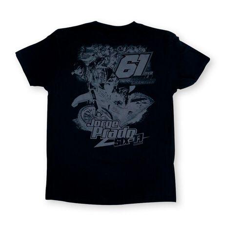 _Jorge Prado Action T-Shirt Schwarz | JP61-200BK | Greenland MX_