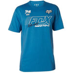 _Fox Flection Tech T-shirt Blau | 21536-522-P | Greenland MX_
