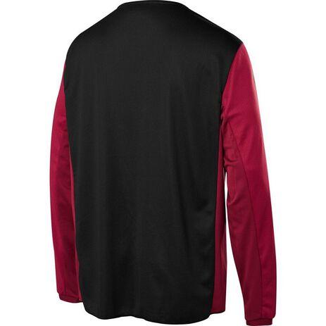 _Shift Whit3 Label Muerte Limited Edition Jersey Schwarz/Rot | 23860-017 | Greenland MX_