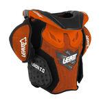 _Leatt Fusion 2.0 Kinder Nackenstütze Orange /Schwarz | LB101401000P | Greenland MX_