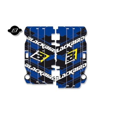 _Blackbird Kühlergitter Aufkleber Kit Yamaha YZ 250/450 F 14-17 | A204E | Greenland MX_