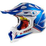 _LS2 MX470 Subverter Helm Power Chrome Blau | 404702626 | Greenland MX_