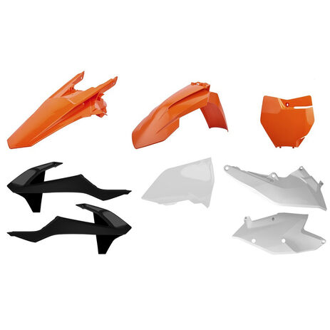 _Polisport KTM EXC/EXC-F 17-18 Plastik Kit OEM | 90751 | Greenland MX_