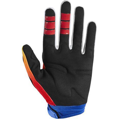 _Handschuhe Fox Dirtpaw Fyce Blau/Rot | 24630-149 | Greenland MX_
