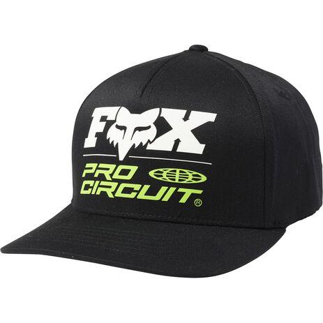_Fox Pro Circuit  Flexit Kappe Schwarz   24418-001   Greenland MX_