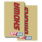 _Tj Vinyl Gabelschutz Aufkleber Showa SFF Air | TJFSSHSFF | Greenland MX_