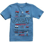 _Fox Edify Kind T-shirt Blau | 21002-157-YP | Greenland MX_