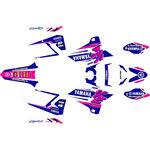 _Komplett Aufkleber Kit Yamaha YZ 125/250 15-20 Retro Edition Pink   SK-YYZ1252501520TP-P   Greenland MX_