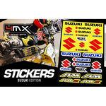 _4MX Aufkleber Set Suzuki | 01KITA606S | Greenland MX_