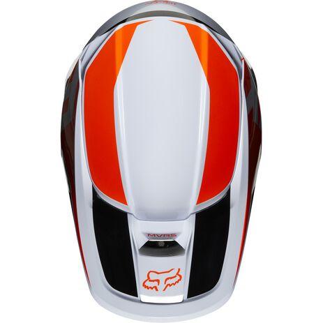 _Fox V1 Prix Helm Orange Fluo | 25471-824 | Greenland MX_