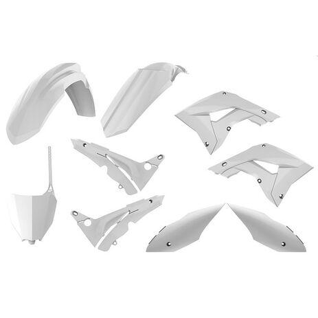 _Polisport MX Restyling Honda CR 125/250 02-07 Plastik Kit Weiß | 90820 | Greenland MX_