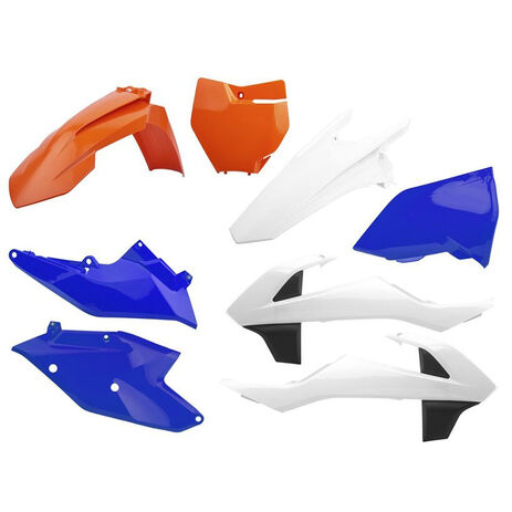 _Polisport KTM Six Days Edition EXC/EXC-F 17-18 Plastik Kit | 90752 | Greenland MX_