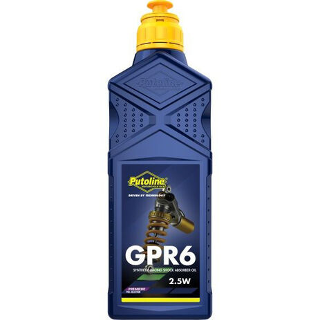 _Putoline Soßdämpferöl GPR 6 SAE 2.5 1 Liter | PT70177 | Greenland MX_
