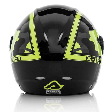 _Acerbis X-Jet On Bike Helm 2016 Schwarz /Gelb | 0021662.318.00P | Greenland MX_