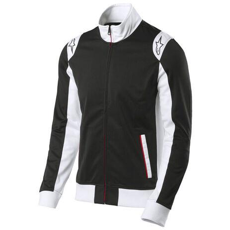 _Alpinestars Sweatshirt Spa Track Sweatshirt Schwarz | 1015-11006-10 | Greenland MX_