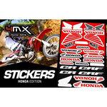 _4MX Aufkleber Set Honda | 01KITA606H | Greenland MX_