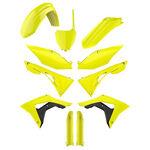 _Plastik Satz Komplett Kit Polisport Honda CRF 450 R 17-18 Gelb Fluor   90742   Greenland MX_