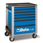 _Werkzeugwagen mit Sieben Schubladen Beta Tools | C24S-7-B-P | Greenland MX_