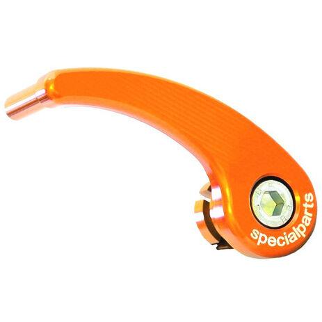 _KTM SX/SXF/EXC/EXCF 125-530 02-14 TE/FE 125-500 08-14 front axle pull Orange  | 200001003 | Greenland MX_